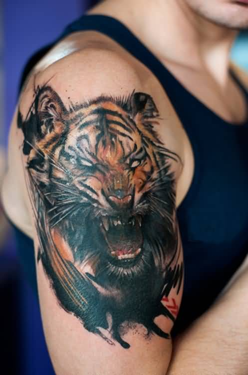 Men Bicep Tattoos Images Pictures Tattoos Hunter Ideas And Designs