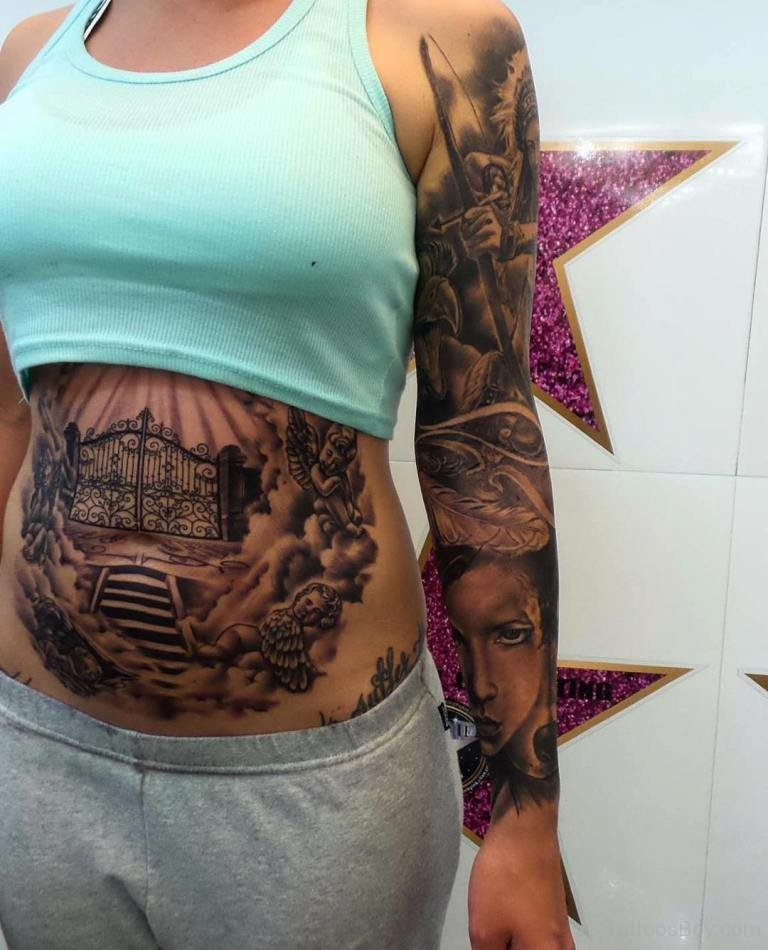 Stomach Tattoos Tattoo Designs Tattoo Pictures Ideas And Designs