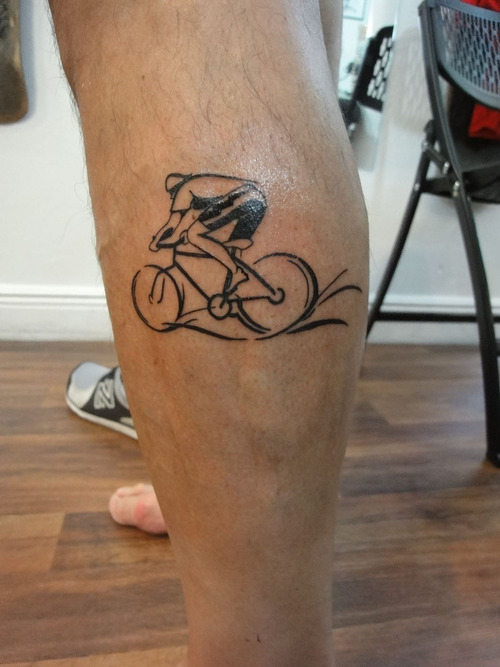Bicycle Tattoos Designs Ideas And Meaning Tattoos For You Ideas And Designs