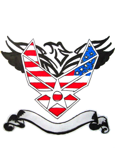 Air Force Tattoos Designs Ideas And Meaning Tattoos For You Ideas And Designs