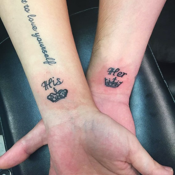 His And Hers Matching Tattoos Designs Ideas And Meaning Ideas And Designs