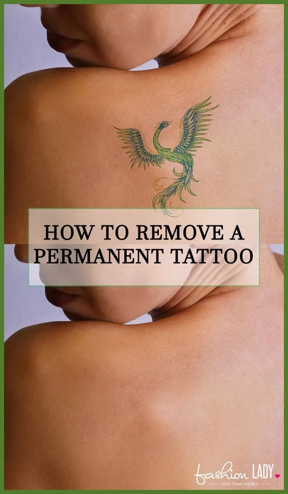How To Remove A Permanent Tattoo Diy Methods And Surgical Ideas And Designs