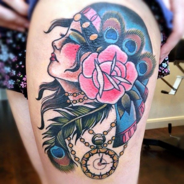 30 Traditional Gypsy Tattoo Ideas For Women To Try Ideas And Designs