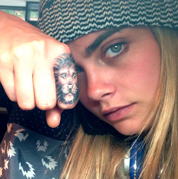 Cara Delevingne Dishes On The Meaning Behind Her Tattoos Ideas And Designs