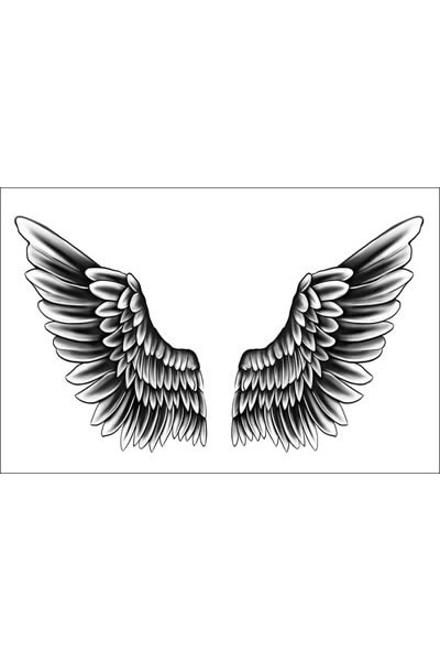 Justin Bieber Wings Temporary Tattoo Of Temporary Tattoos Ideas And Designs
