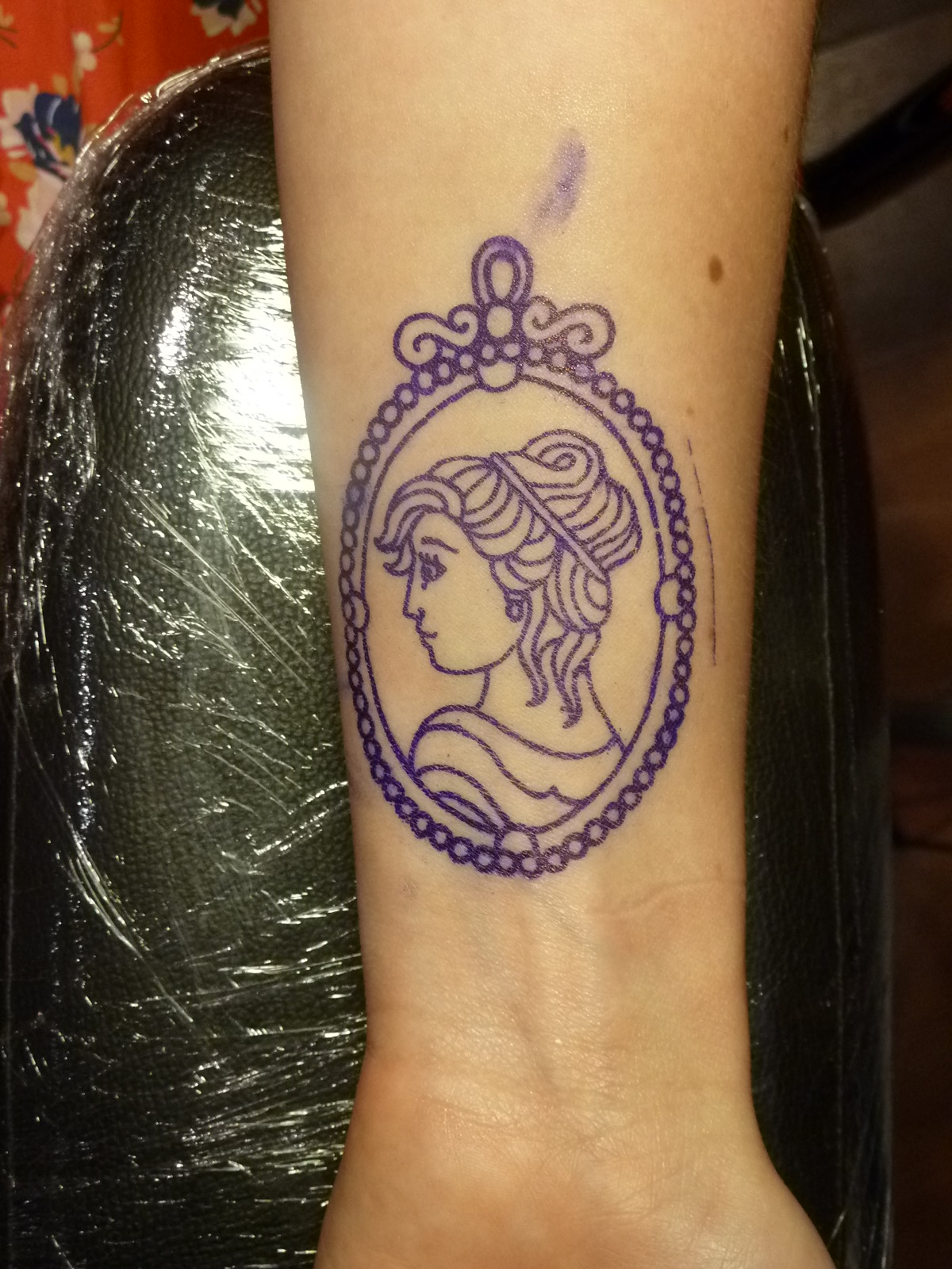 My Cameo Tattoo By Andrea Furci Ideas And Designs