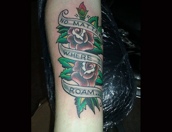 White Tommy S Tattoo Portfolio And Biography Beyond Ideas And Designs