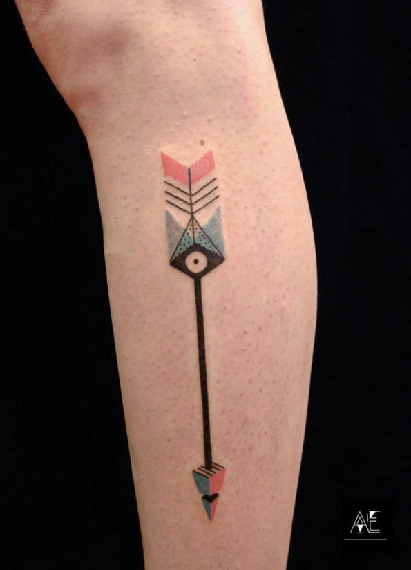 30 Incredible Arrow Tattoo Designs Blogrope Ideas And Designs