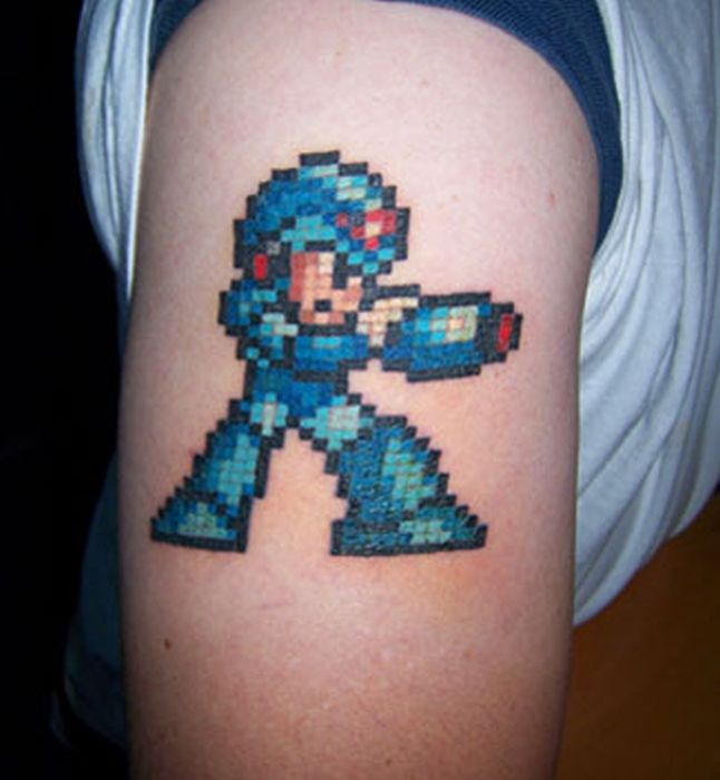 Keep It Retro With These Awesome 8 Bit Tattoos Brothers Ideas And Designs