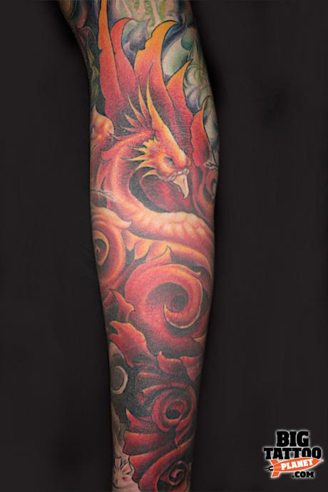 Alexis Vaalete Colour Tattoo Big Tattoo Planet Ideas And Designs