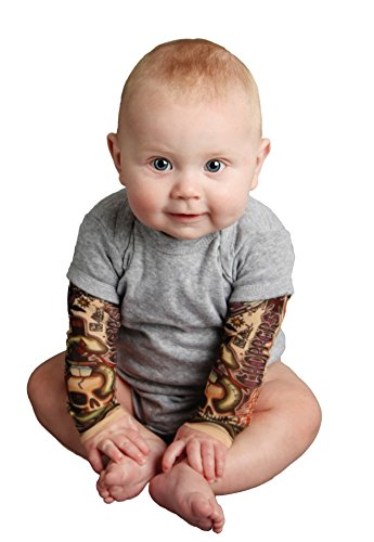 Tottude Baby Boys Chopper Tattoo Sleeve Bodysuit 6 Months Ideas And Designs
