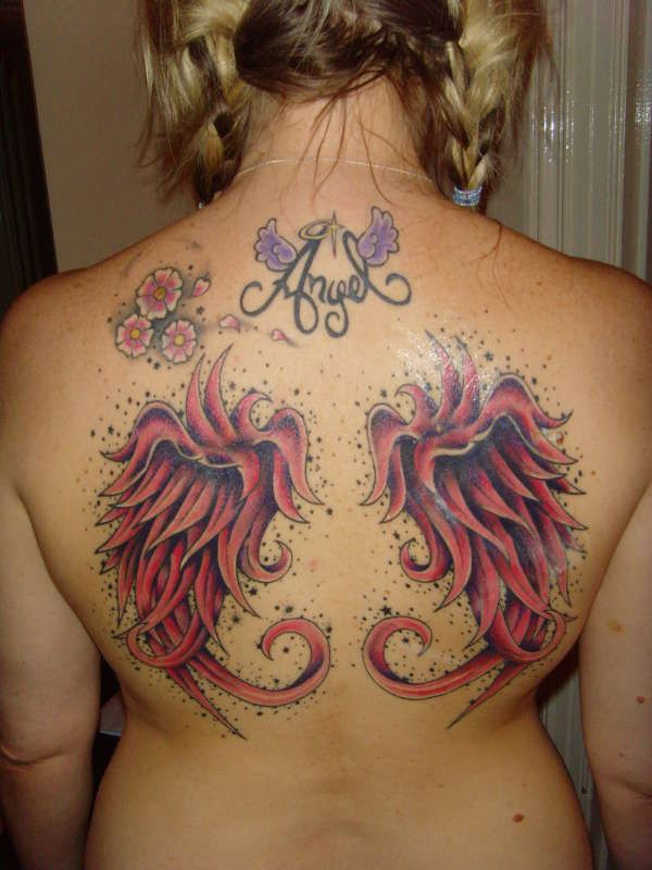 Red Wings Tattoo Ideas And Designs