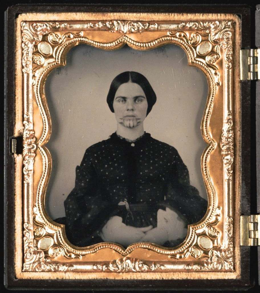 Olive Oatman Was The 1850S Girl With A Tattoo On Her Face Ideas And Designs