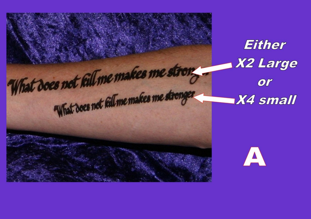 Tattoos Inner Arm Forearm Personalised Your Own Quote Ideas And Designs