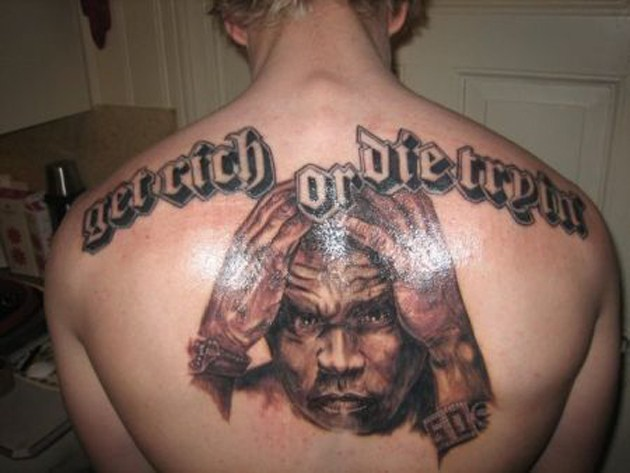 Some Of The Most Awesome Rap Inspired Tattoos Back It Up Ideas And Designs