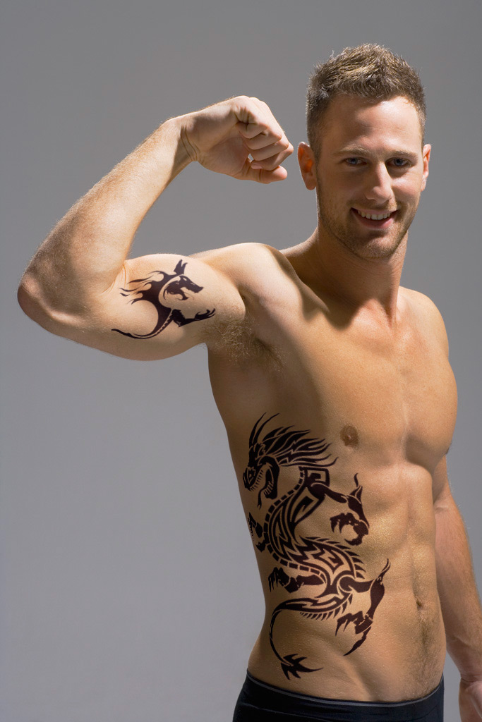 Tribal Tattoo Bicep Ideas And Designs