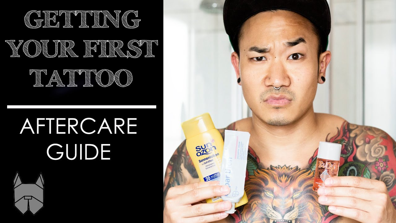 Getting Your First Tattoo Aftercare Guide Youtube Ideas And Designs