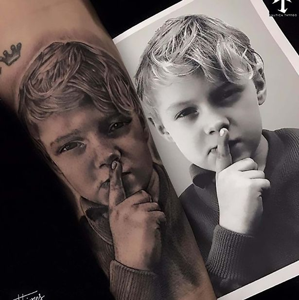 Barcelona Superstar Neymar Shows Off New Tattoo Of Son And Ideas And Designs