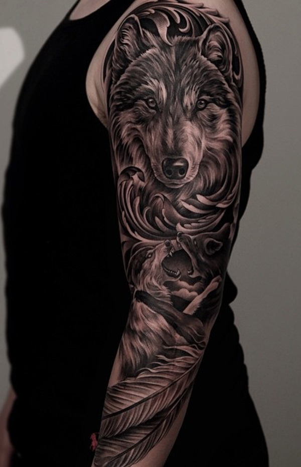70 Eye Catching Sleeve Tattoos Nenuno Creative Ideas And Designs