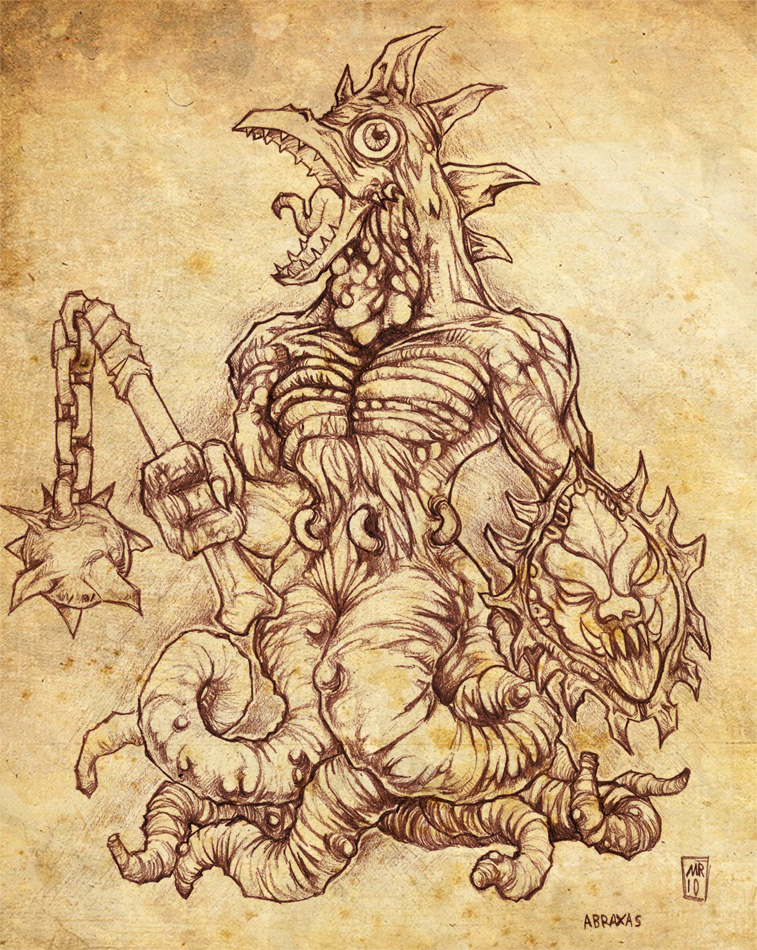 Abraxas By Hawanja On Deviantart Ideas And Designs