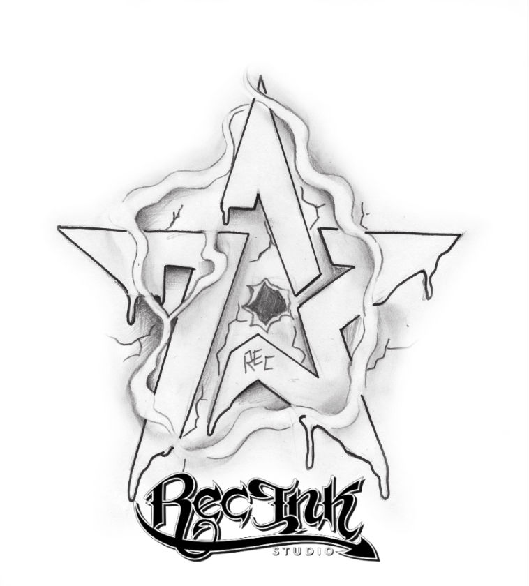 H Town Tattoo Idea Rec 713 Sketch By Txrec On Deviantart Ideas And Designs