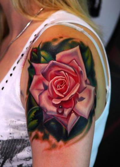 Rose Tattoos Are Bloomin' Body Art « Tattoo Articles Ideas And Designs