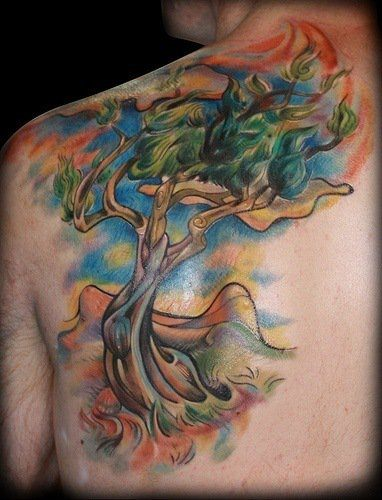 Tree Tattoo Designs That Will Really Grow On You « Tattoo Ideas And Designs