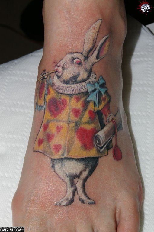 """Ink Me"" With Alice In Wonderland Tattoos « Tattoo Ideas And Designs"