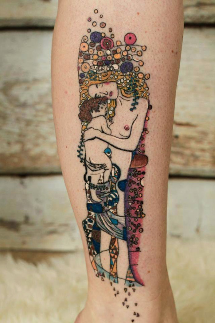 10 Gustav Klimt Tattoos To Show Your Artistic Side Ideas And Designs