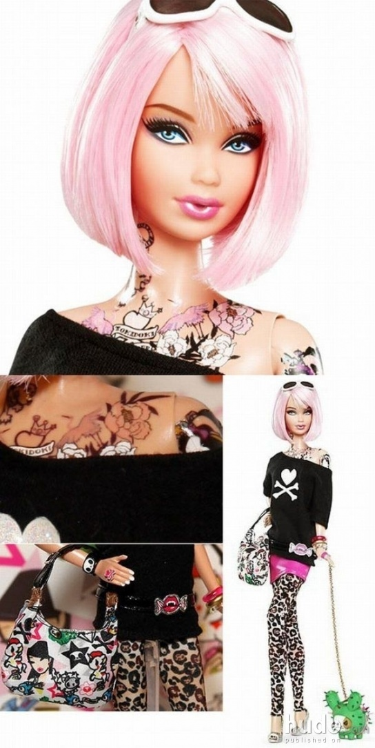 New Tattoo Barbie Cool Posters Hudo Com Ideas And Designs
