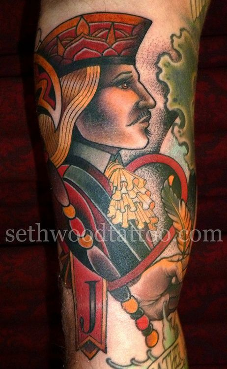 Jack Of Hearts By Seth Wood Saved Tattoo Tattoos Ideas And Designs