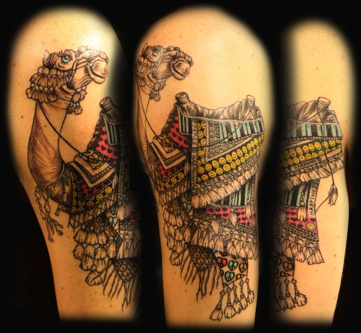 Camel Tattoo On Pinterest Camels Tattoos And Body Art Ideas And Designs