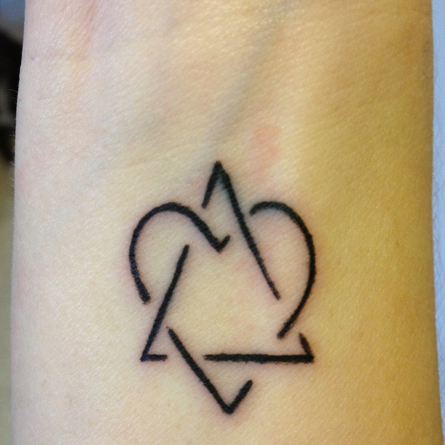 Adoption Symbol Representing Love Between Adoptive Family Ideas And Designs