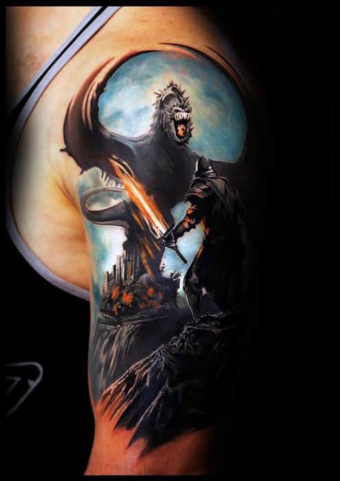 70 Dragon Arm Tattoo Designs For Men Fire Breathing Ink Ideas And Designs