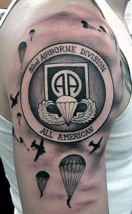 28 Parachute Regiment Tattoo Designs 30 Airborne Ideas And Designs