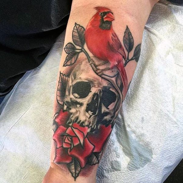 60 Cardinal Tattoo Designs For Men Bird Ink Ideas Ideas And Designs
