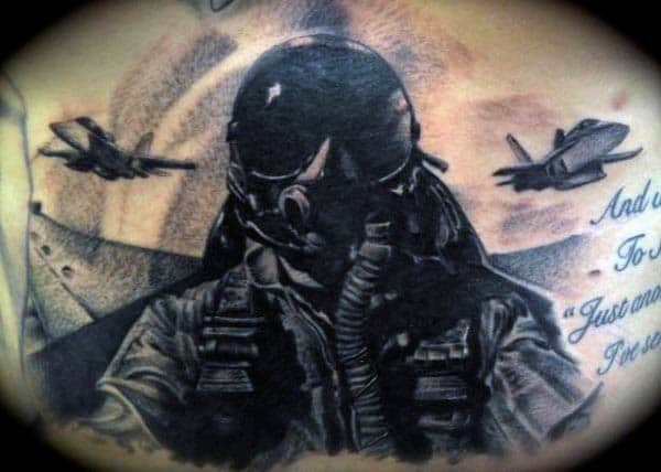 70 Air Force Tattoos For Men Usaf Design Ideas Ideas And Designs