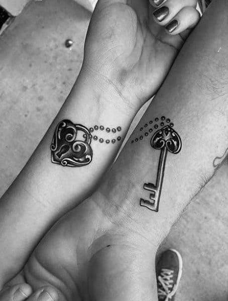 Top 100 Best Matching Couple Tattoos Connected Design Ideas Ideas And Designs