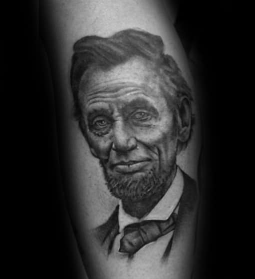 40 Abraham Lincoln Tattoo Designs For Men Presidential Ideas Ideas And Designs