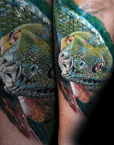 50 3D Snake Tattoo Designs For Men Reptile Ink Ideas Ideas And Designs