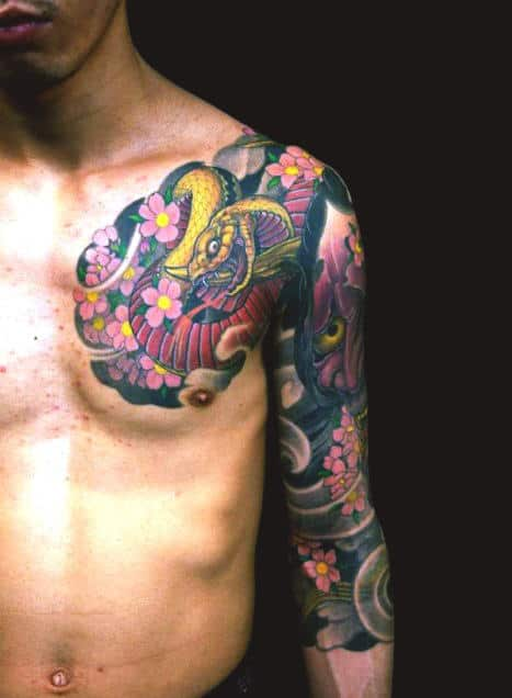 50 Japanese Tattoos For Men Masculine Motifs Ideas And Designs
