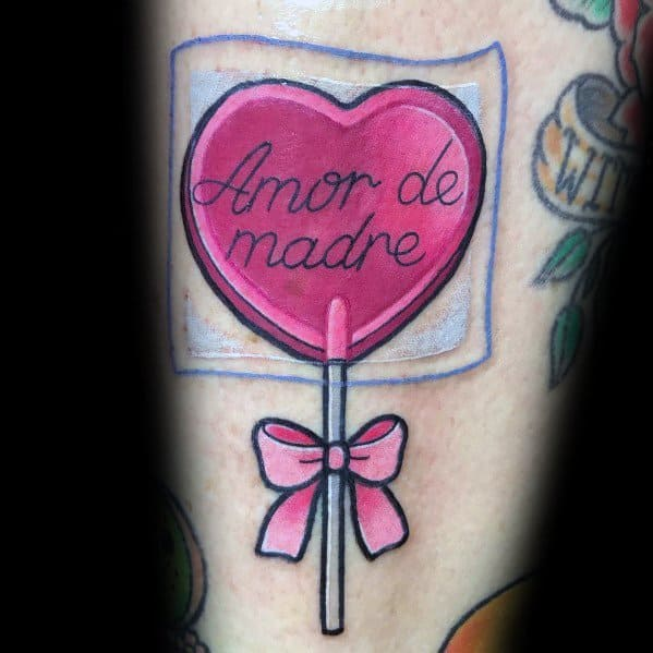 60 Candy Tattoo Ideas For Men Sweet Designs Ideas And Designs