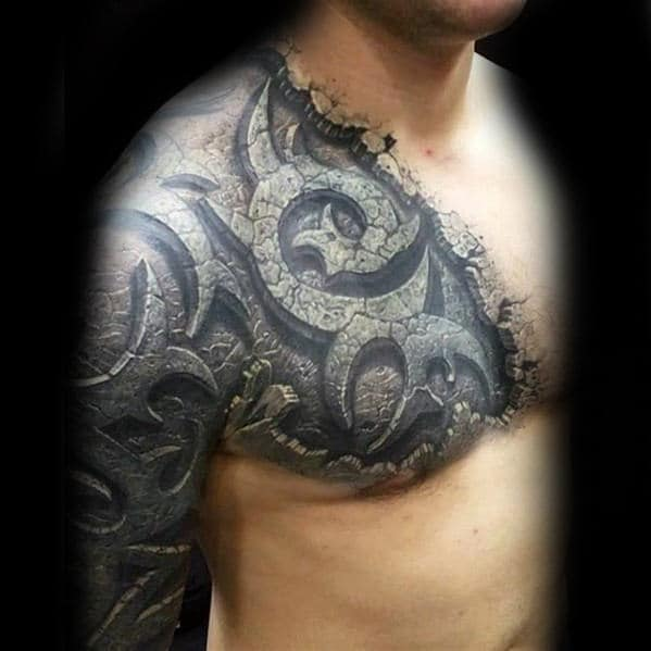 50 Unbelievable Tattoos For Men Inconceivable Ink Design Ideas And Designs