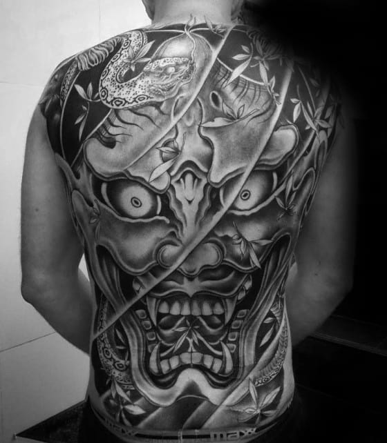 50 Japanese Demon Tattoo Designs For Men Oni Ink Ideas Ideas And Designs