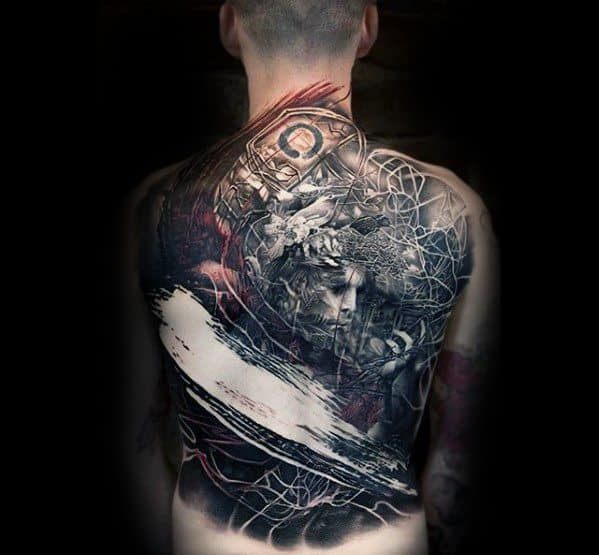 50 Awesome Back Tattoos For Men Masculine Design Ideas Ideas And Designs