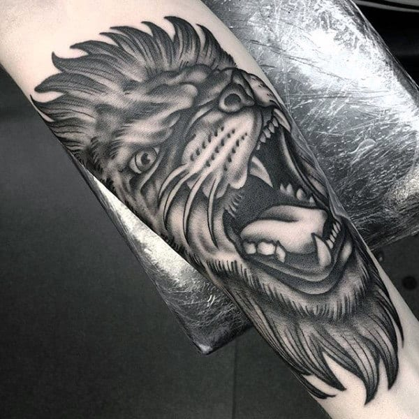85 Lion Tattoos For Men A Jungle Of Big Cat Designs Ideas And Designs