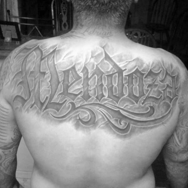 50 Last Name Tattoos For Men Honorable Ink Ideas Ideas And Designs