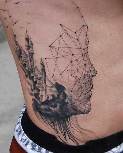40 Rib Tattoos For Men Incredible Side Ink Designs Ideas And Designs
