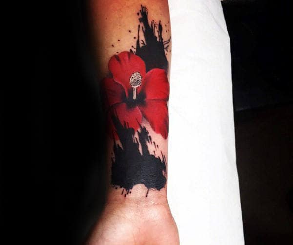 80 Hibiscus Tattoo Designs For Men Flower Ink Ideas Ideas And Designs