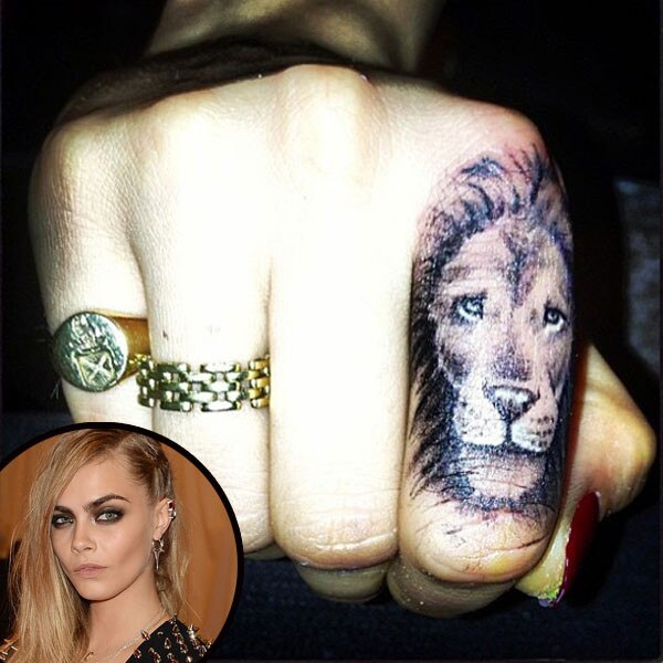 Cara Delevingne Shows Off Made In England Tattoo—See The Ideas And Designs